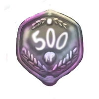 500 XP Plaque by ReapersSpeciesHub
