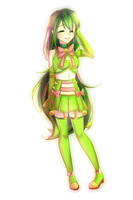 Midori (Commission) by Zharleste