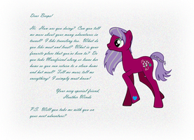 Heather Winds Letter by CorpulentBrony