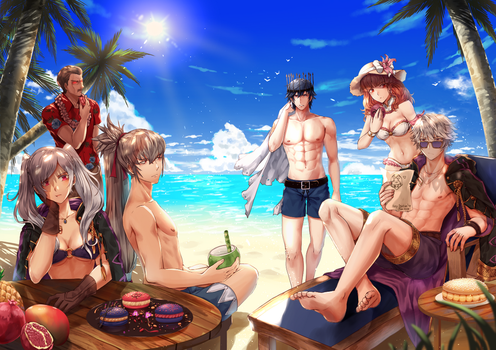 The Fallen vacations by Wanini