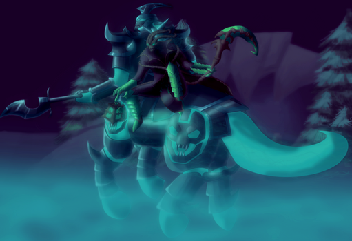 Thresh and Hecarim by SquishyFudge