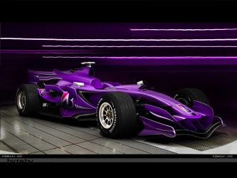 F1 car 2012 by brianspilner