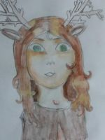 deer-girl by yiska13