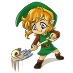Zelda Collab- Shovel by eERIechan
