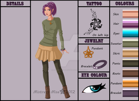 Celest Character Sheet by Stormweaver-Arts