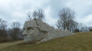 Chief Leatherlips Monument by Bennuendo