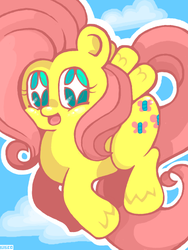 chubby fluttershy by Child-Of-Neglect