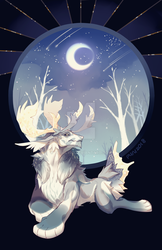 The snow, the stars and a guardian by tofuling