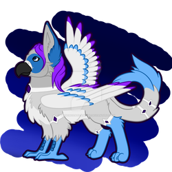 Chibi | Griffen for Tandy by trenchcoats-and-pie