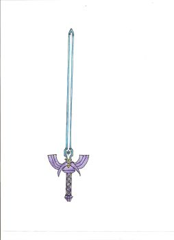 Master Sword _redrawn_ by Excalibur5k