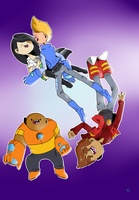 Bravest Warriors by Tinypop