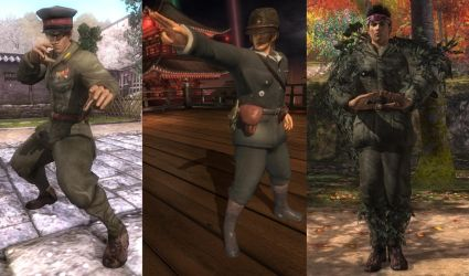 DoA5 Mod - WWII Japanese Officers Pack by Segadordelinks
