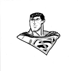 Superman Sketch by TNBatmanFan