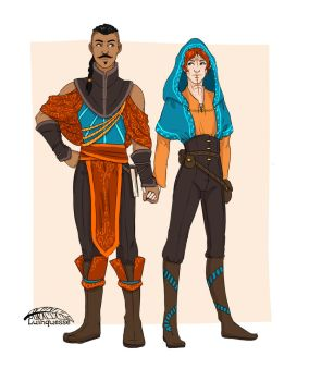 Tevinter rebels by luinquesse
