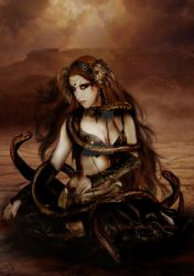 Snake Charmer by babsartcreations