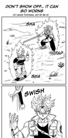 DB BK 3: Trunks the show-off by BK-81