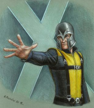 X-men: First Class  -Magneto- by BrokenMachine86