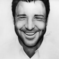 Russell Crowe by camiillustrates