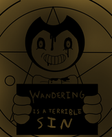 Wandering is a terrible sin by RichardtheDarkBoy29