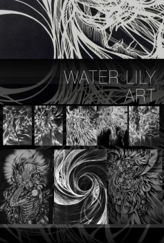 Water Lily ART by Ddeserted