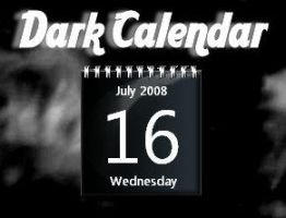 Dark Calendar by rodfdez