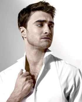 Daniel Radcliffe - Colorized by marcielucas