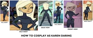 How to Cosplay as Karen Daring (Agent K) by Prentis-65