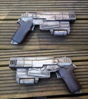 Rusty 10mm pistol Fallout 4 by atrum-lupus