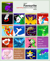 Aqua's Pokemon meme filled- LEGENDARY version by Roses-and-Feathers