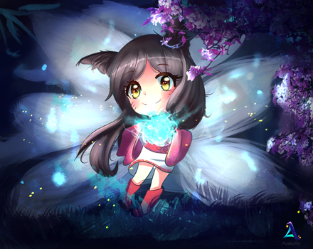 League of Legends- Ahri (2 of 139) by Axsikio
