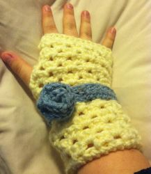 Crochet Hand Warmers by lubbhouse