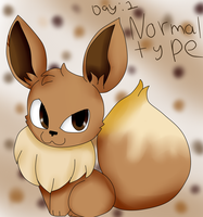 Day 1 Normal Type by Mongoosegoddess