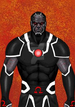 Darkseid 31 08 14 color black armor by LucasBoltagon