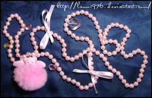 Collana angelorso pink charm by lamu1976