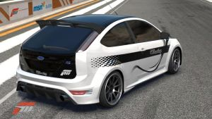 Ford Focus RS rear by huismijt