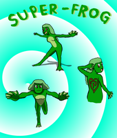 The Super-Frog by Kuveko2010