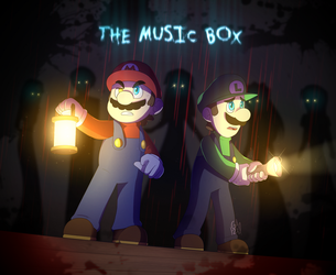 [Mario: The Music Box] His fate is sealed (Redraw) by Gameaddict1234
