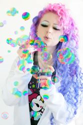 Rainbow Bubbles by wisely-chosen