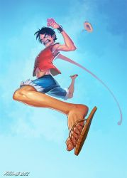 Monkey D Luffy Rejected Pose by NorseChowder