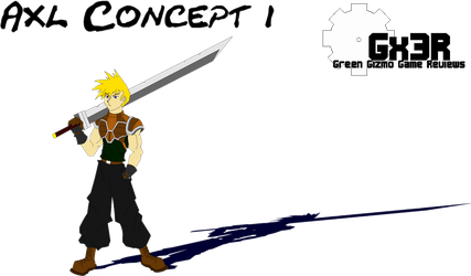 OLD- Axl Concept 01 by Gx3RComics