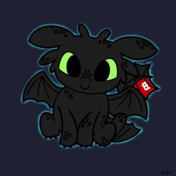 Baby Toothless by KachiWho