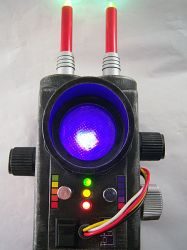 Extreme Ghostbusters style PKE Meter by firebladecomics