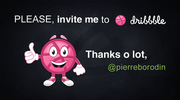 Dribbble invite by NumarisLP