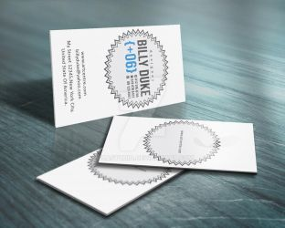 Badge Business Card by FBAstudio