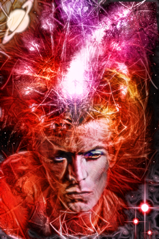 David Bowie: Spider From Mars by Impetus-Magnet