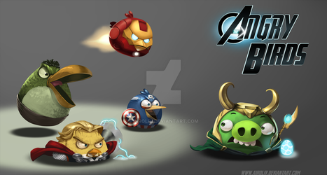 THE ANGRY-VENGERS by airoliv