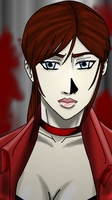Tribute to Claire Redfield DSC by shadowblackfox