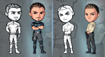 Minivanfield Chris and Piers from Concept to 3D by LitoPerezito