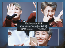 Photopack #88 - Kim NamJoon [RapMonster of BTS] by YuriBlack