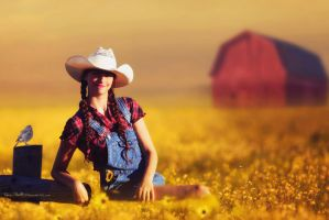 Country Girl 1 by cherie-stenson